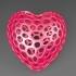 Heart - Voronoi Style image