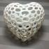 Heart - Voronoi Style print image