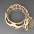 Beautiful Chunky Bracelet - Voronoi Style image