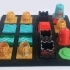 """Battle of Golems. Learning to Program you Robots"" board game 3D models image"