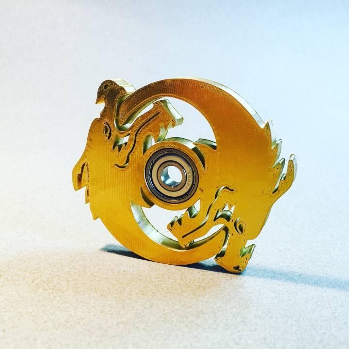 Hanzo Ult Icon Spinner - Overwatch