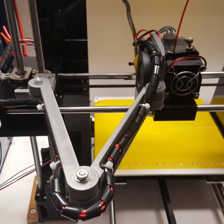 Anet A6 cable holder X wagon
