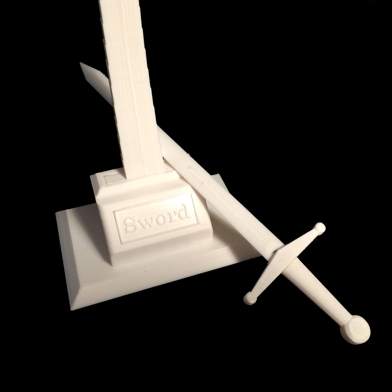 Model sword image