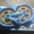 Fidget Gear Keyring print image