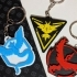 Pokemon Go Team Keyrings image