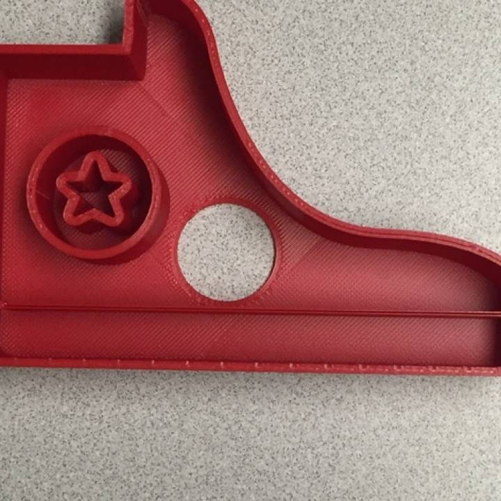 Converse Shoe Cookie Cutter