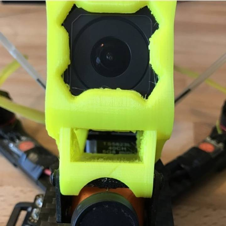 Realacc X210 Gopro Session mount with VTX Vent
