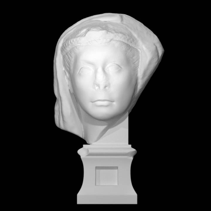 Veiled Female Portrait