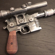 Picture of print of Han Solo Blaster (DL-44)