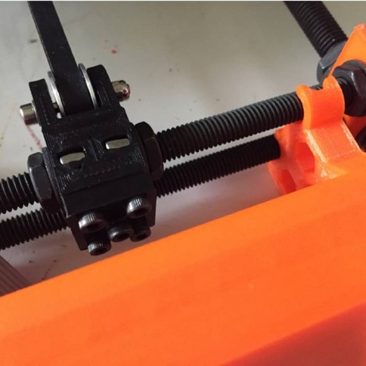 photograph about Prusa Printable Parts named 3D Printable Prusa i3 MK2(s) Y Belt Tensioner via Puma