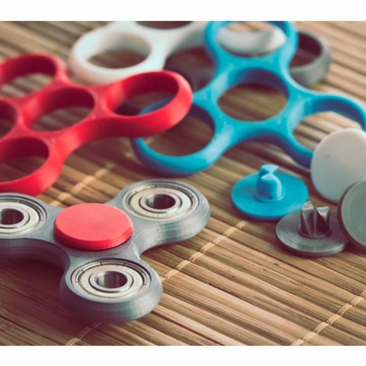 Fidget Spinner Thumbpad Pin