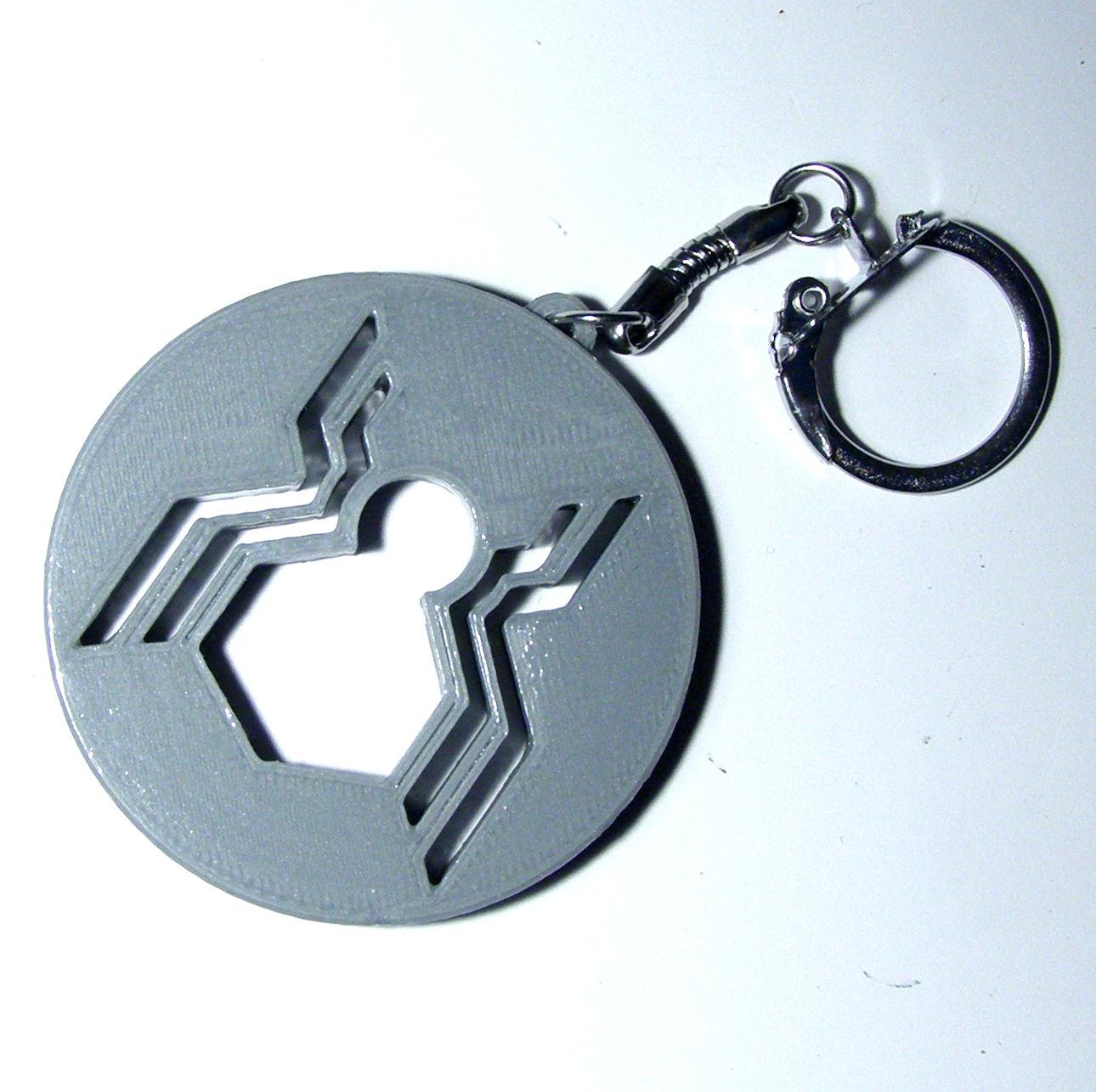 Spiderman Homecoming Keychain image