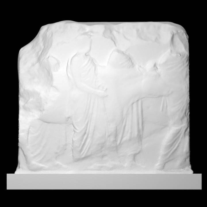 Parthenon Frieze _ South XLI, 122-125