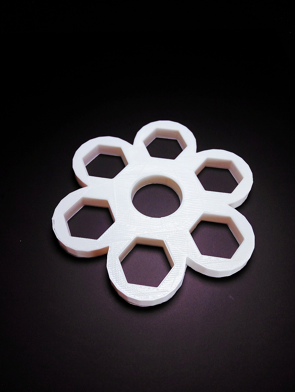 Hex-Hex Fidget Spinner image