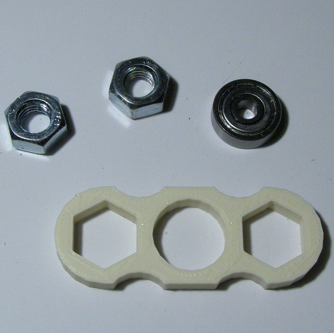 Small Bi-Hex Fidget Spinner image