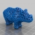 Rhino - Voronoi Style image