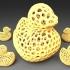 Rubber Duck - Voronoi Style image