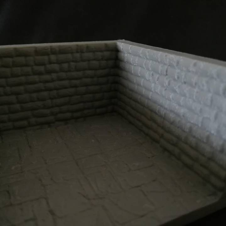 Dungeon Series - Corridor Dead-End