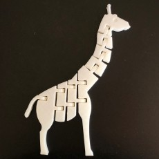 Picture of print of Twists & bends Giraffe by orangeteacher
