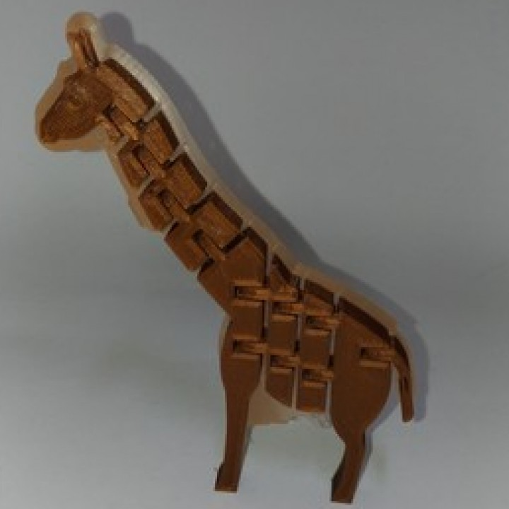 Twists & bends Giraffe by orangeteacher