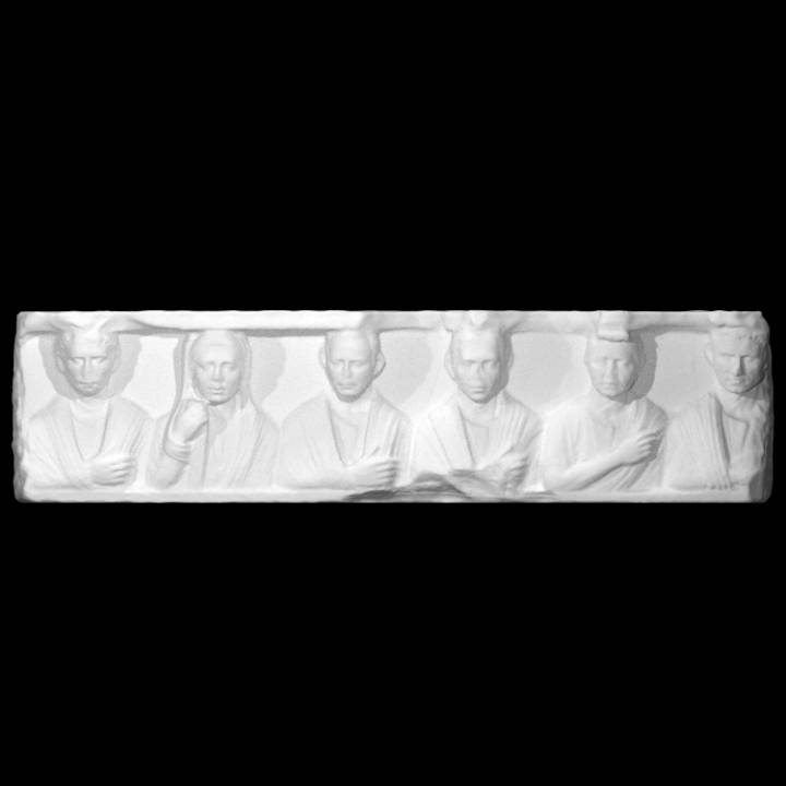 Funerary Relief with Six Figures