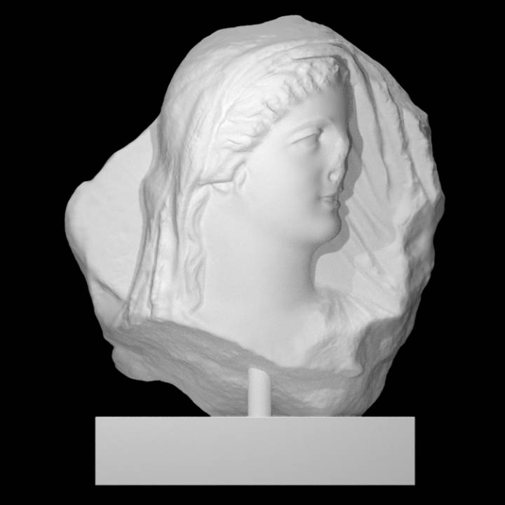 Relief with Female Figure