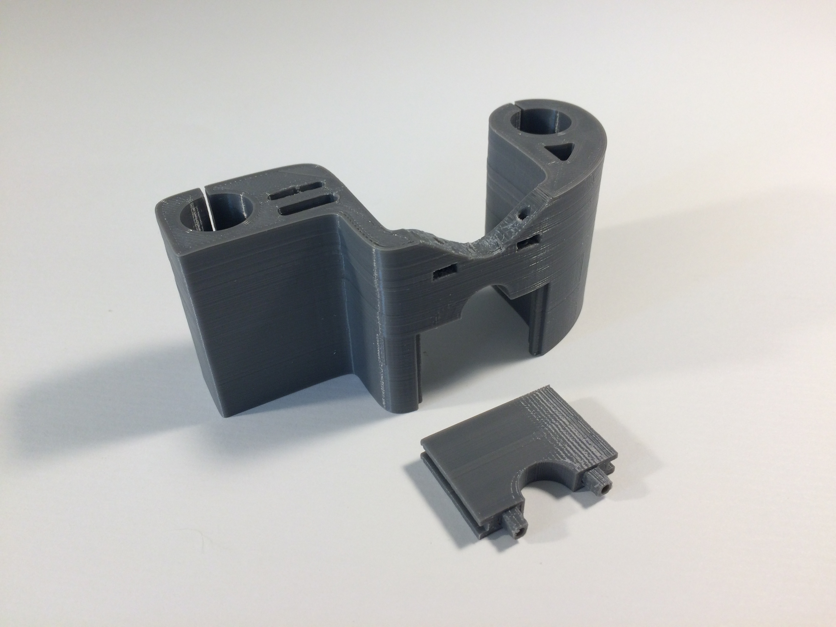 Anet A6 X carriage for genuine E3D V6 bowden image