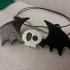 Bat Skull Pendant two colors image