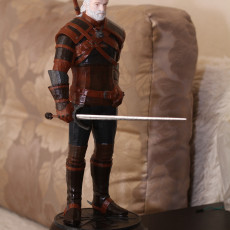 Picture of print of Geralt of Rivia / Witcher 3 / 3d stl model This print has been uploaded by Alex