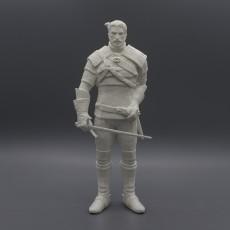 Geralt of Rivia / Witcher 3 / 3d stl model