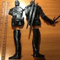 Picture of print of Geralt of Rivia / Witcher 3 / 3d stl model This print has been uploaded by Peter Fedor