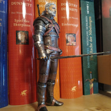 Picture of print of Geralt of Rivia / Witcher 3 / 3d stl model This print has been uploaded by Rudolf Arendt