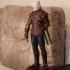Geralt of Rivia / Witcher 3 / 3d stl model print image