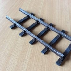 Straight Track Garden Railway System 45mm Gauge