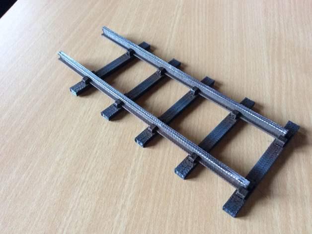 Straight Track Garden Railway System 45mm Gauge