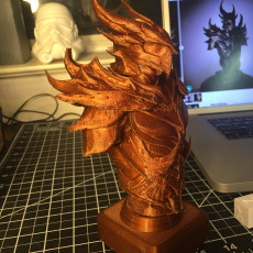 Picture of print of Elder Scrolls Skyrim Daedric Armor Bust This print has been uploaded by Mark Brown