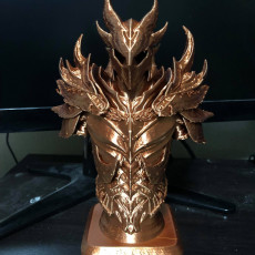 Picture of print of Elder Scrolls Skyrim Daedric Armor Bust This print has been uploaded by Kevin Stepp