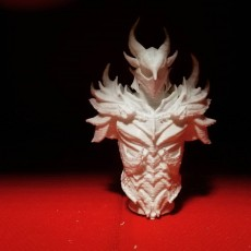 Picture of print of Elder Scrolls Skyrim Daedric Armor Bust This print has been uploaded by Prodromou Dimitris