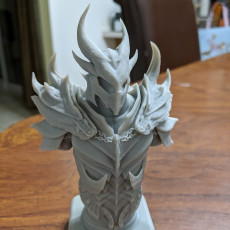 Picture of print of Elder Scrolls Skyrim Daedric Armor Bust