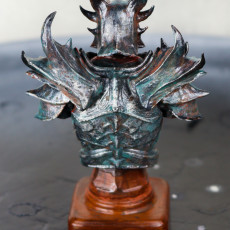 Picture of print of Elder Scrolls Skyrim Daedric Armor Bust This print has been uploaded by Kayne Dettmann
