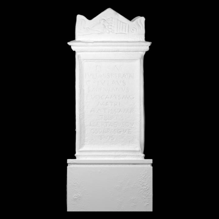 Marble Funerary Altar of Julia Sperata