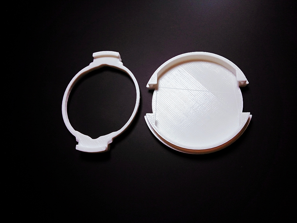 upgrade remix of lens cap for slr 52mm scaleble, now updated with strenghtened weak points image