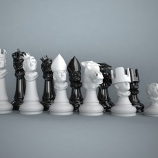 Chess set out of my own head