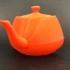 Coat and hat hanger utah teapot image