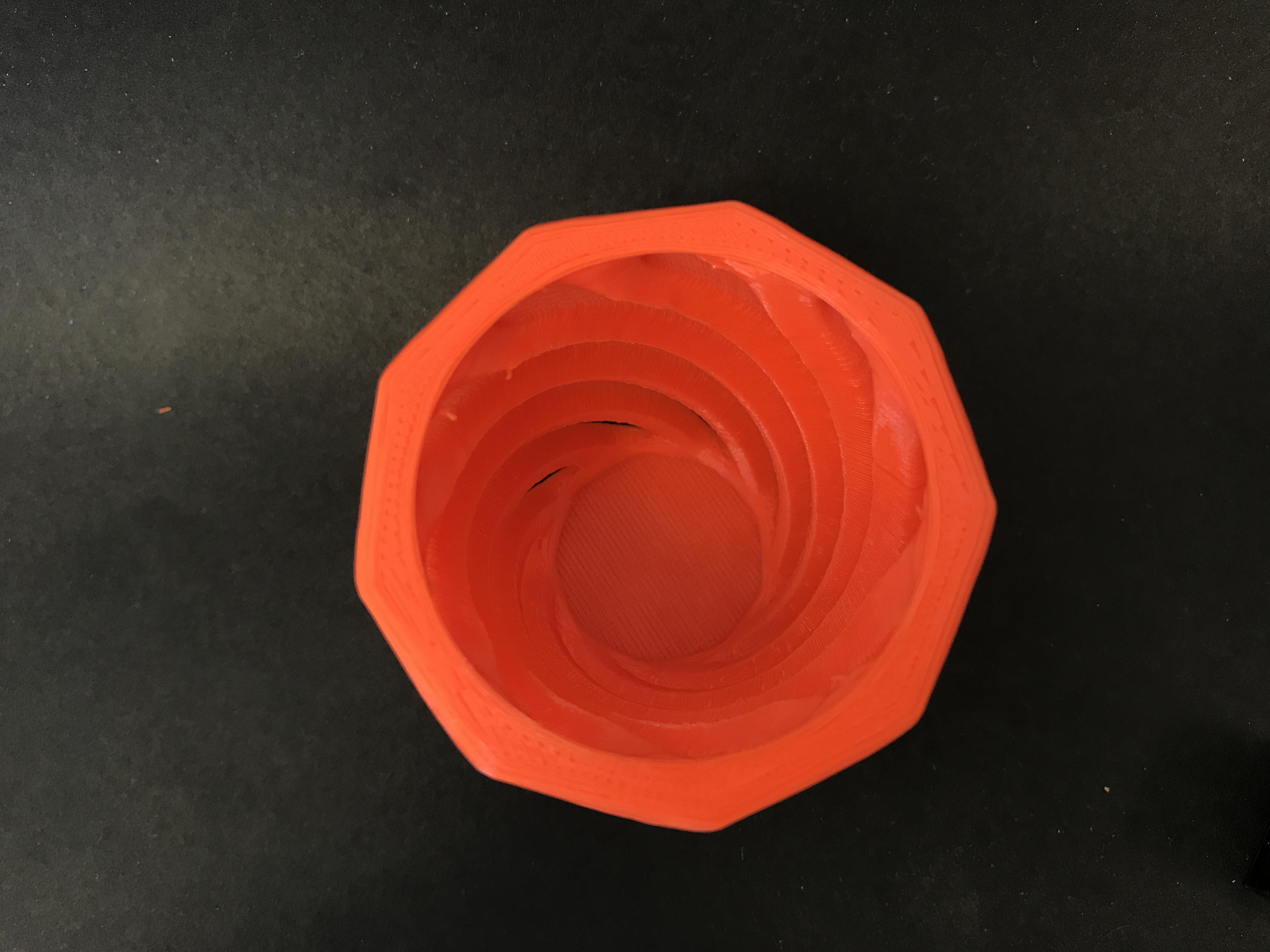 Hollow Vase/Penholder good for orchids image