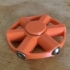 Fidget Spinner, Bolt Weighted - 2 bearing image