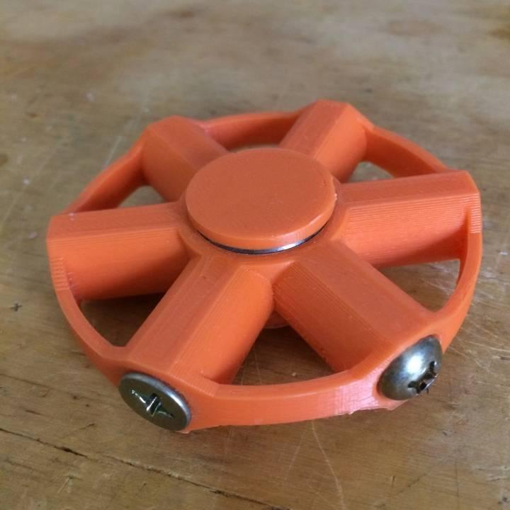 Fidget Spinner, Bolt Weighted - 2 bearing