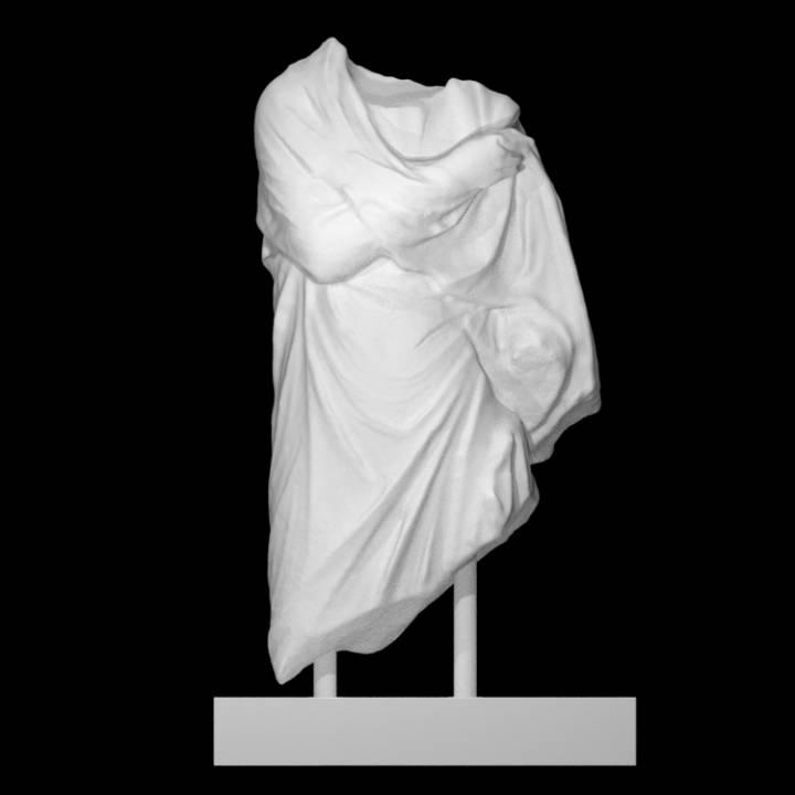 Female Pedimental Statue