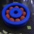 2 color Abs ball bearing with ball support image