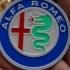 4 colors Alfa Romeo Logo image